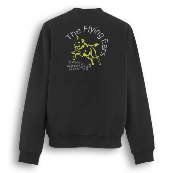 The Flying Ears - Sweater mit Stickerei