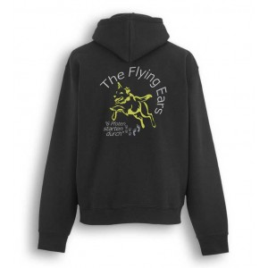 The Flying Ears - Zipped Hood mit Stickerei