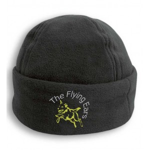 The Flying Ears - Fleece Skimütze mit Stickerei