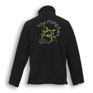 The Flying Ears - Outdoor Fleece mit Stickerei