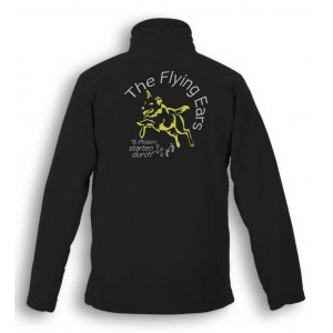 The Flying Ears - 1/4 Zip Outdoor Fleece mit Stickerei