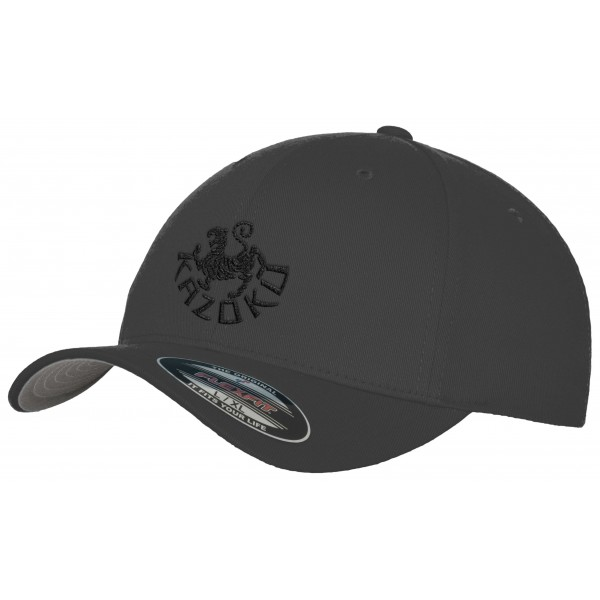 Kazoku Karate - Flexfit fitted Baseball Cap