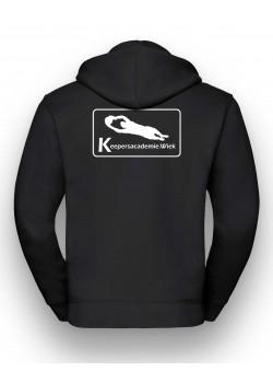 Keepersacademie - Zipped Hood mit Logo