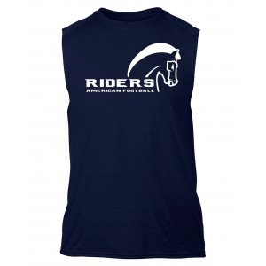 Schiefbahn Riders - Performance® Sleeveless T-Shirt Pferd
