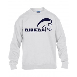 Schiefbahn Riders - Kids' Blend Crew Neck Sweat Pferd