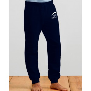 Schiefbahn Riders - Heavy Blend Adult Sweatpants with Cuff - Pferd  Weiss