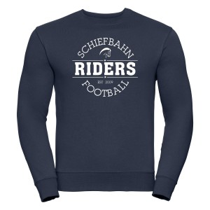 "Schiefbahn Riders - Casual-Sweater ""Logo"""