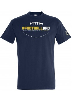 "Schiefbahn Riders - T-Shirt ""#Football Dad"""