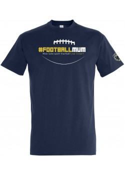 "Schiefbahn Riders - T-Shirt ""#Football Mum"""