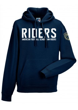Schiefbahn Riders - Men's Authentic Hooded Sweat Riders Logo