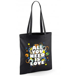 Baumwolltasche - All you need is Love